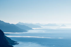 Classical Norway scenery Royalty Free Stock Images