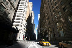 Classical NY, Broadway. St,  Manhattan Royalty Free Stock Photography