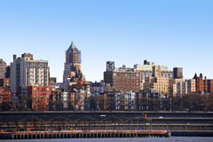 Classical NY - Bronx. View from Manhattan, USA stock photos