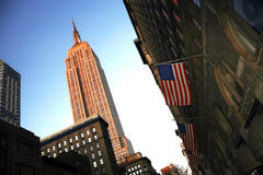 Classical NY - Empire State Building, Manhattan Royalty Free Stock Images