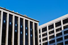 Classical office buildings in Washington DC. Royalty Free Stock Photography
