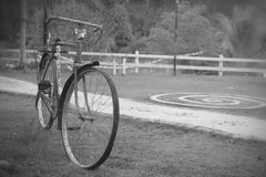 Classical old Bicycle Royalty Free Stock Photos
