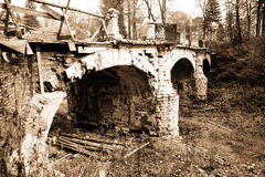 Classical old bridge Stock Image