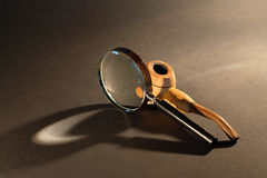 Classical Old-Fashioned Detective Set Royalty Free Stock Image