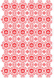 Classical Oriental Pattern. Red color traditional pattern design Royalty Free Stock Images