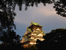 The Classical Osaka Castle Stock Photography
