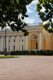 Classical palace with two rows of columns Stock Photos