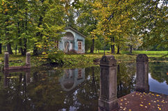 Classical pavilion Stock Images