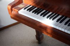 Classical piano Stock Photography