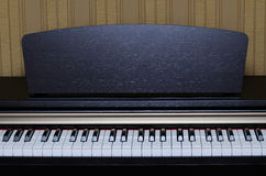 Classical piano keys Royalty Free Stock Images