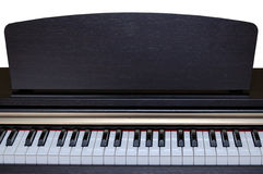 Classical piano keys Royalty Free Stock Image