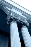 Classical pillar Stock Images