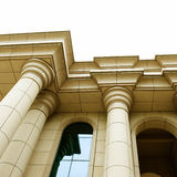 Classical pillar Stock Photography