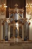 Classical pipe organ Royalty Free Stock Photo