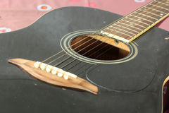 Classical Relic guitar Royalty Free Stock Image