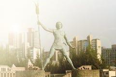 Classical roman statue Stock Image