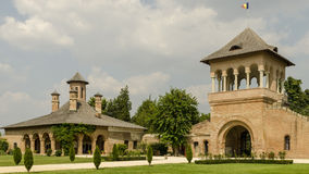 Classical Romanian style. Buildings in classical Romanian style Stock Images