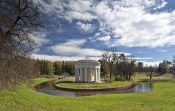 Classical rotunda in early spring Royalty Free Stock Images