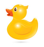 Classical rubber duck royalty free illustration
