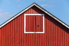 Classical Scandinavian architecture fragment Stock Images