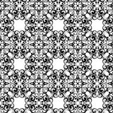 Classical seamless. Black classical design as texture or seamless stock illustration