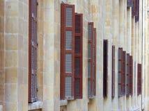 Classical Shutter Design, Beirut (Lebanon) Stock Image