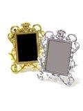 Classical silver frame Royalty Free Stock Photos
