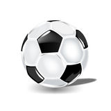 Classical soccer ball for victories Royalty Free Stock Image