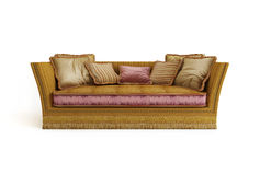 Classical sofa Stock Photos