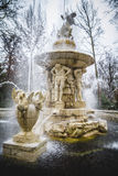 Classical sources of water in the royal gardens of Aranjuez, Spa Stock Photos