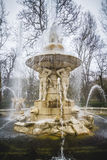 Classical sources of water in the royal gardens of Aranjuez, Spa Stock Image