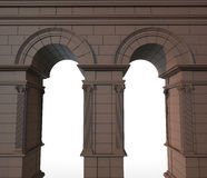 Classical stone arch Royalty Free Stock Image