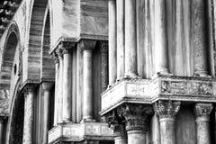 Church Columns Stock Photography