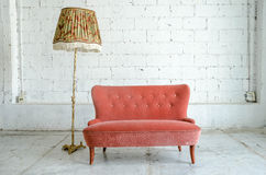 Classical style Armchair sofa couch Stock Image
