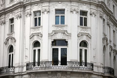 Classical style building in Vienna Royalty Free Stock Photos