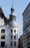 Classical style building in Vienna Stock Photos