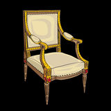 Classical style chair Stock Images