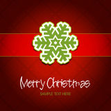 Classical style christmas background. Royalty Free Stock Images
