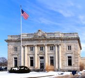 Classical style post office Royalty Free Stock Photos
