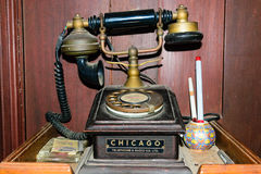 Classical telephone heritage Royalty Free Stock Photography
