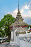 Classical Thai architecture, Bangkok, Thailand. Royalty Free Stock Images
