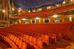 Classical Theatre. Interior view of Classical Theatre Royalty Free Stock Photos