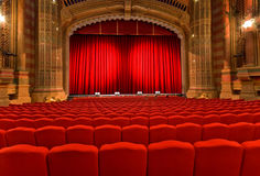 Classical Theatre. Interior view of Classical Theatre Royalty Free Stock Image
