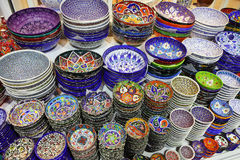 Classical Turkish ceramics Stock Photography
