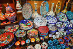 Classical Turkish ceramics Royalty Free Stock Photography
