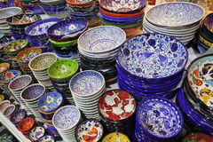 Classical Turkish ceramics Royalty Free Stock Photos