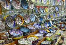 Classical Turkish ceramics Stock Image