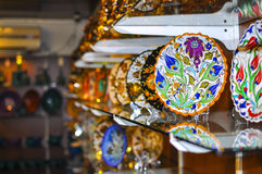 Classical Turkish ceramics Stock Photo