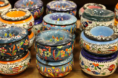 Classical turkish ceramics Royalty Free Stock Photo