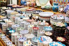 Classical Turkish ceramics Stock Photo